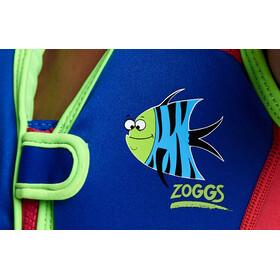Zoggs Sea Saw Swim Jacket Gutter blue